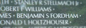 Name in the Memorial Wall